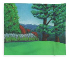 Ever Green Fleece Blanket
