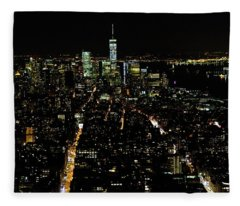 Everglow Of New York  Fleece Blanket