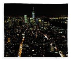 Everglow Of New York  Fleece Blanket