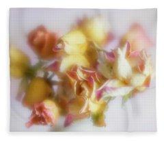 Everlasting Rose Buds Fleece Blanket