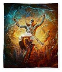 Evil God Fleece Blanket