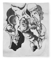 Evolution In Mind  Fleece Blanket