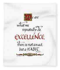 Excellence Fleece Blanket