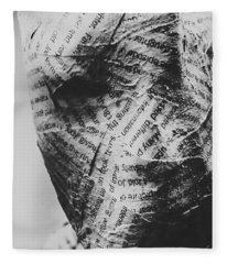 Exhumation Of Contextual Truth Fleece Blanket
