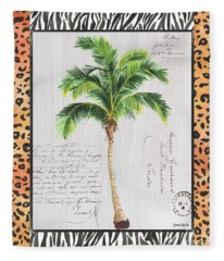 Exotic Palms 1 Fleece Blanket