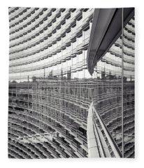 Fleece Blanket featuring the photograph Expanse by Alex Lapidus