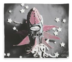 Exploration Into Outer Space  Fleece Blanket