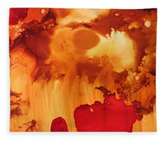 Explosion From The Galaxy Fleece Blanket