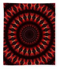 Eye Of Leviathan Fleece Blanket