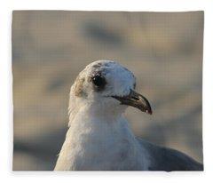 Eye Of The Gull Fleece Blanket