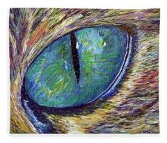 Eyenstein Fleece Blanket