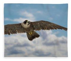 Eyes In The Sky Fleece Blanket