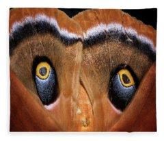 Eyes Of Disguise Fleece Blanket