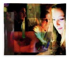 Eyes Wide Shut - Stanley Kubrick's Movie Interpretation Fleece Blanket