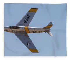 F-86 Jolley Roger Fleece Blanket