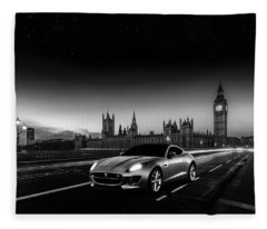 F-type In London Fleece Blanket