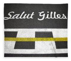 F1 Circuit Gilles Villeneuve - Montreal Fleece Blanket