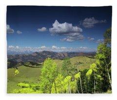 Faafallscene102 Fleece Blanket