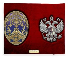 Faberge Tsarevich Egg With Surprise Fleece Blanket