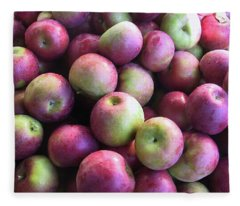 Fabulous Fall Fruits Fleece Blanket