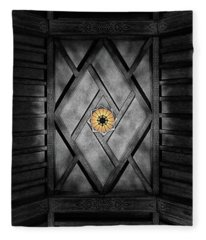 Fabulous Fox Theater Atlanta Ceiling Detail Fleece Blanket
