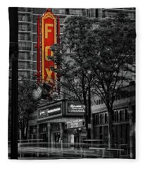 Fabulous Fox Theater Fleece Blanket
