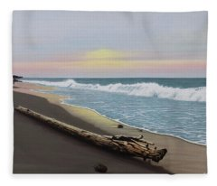 Face To The Morning Fleece Blanket