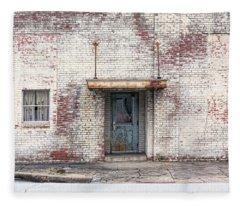 Factory Door Fleece Blanket