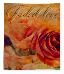 Faded Love Fleece Blanket