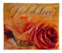 Faded Love Fleece Blanket