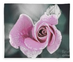 Faded Romance Fleece Blanket