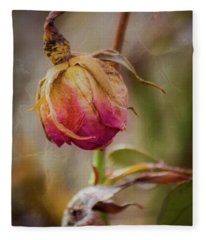 Fading Color Of Summer Fleece Blanket