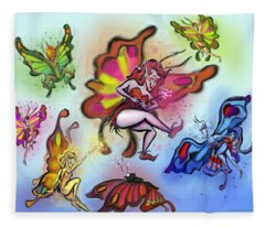 Faeries Fleece Blanket