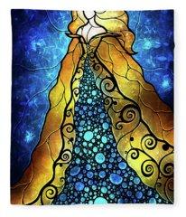 Fair Ophelia Fleece Blanket