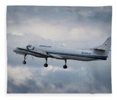 Fairchild Sa-227 Fleece Blanket