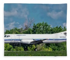 Fairchild/swearingen Sa-227 Fleece Blanket