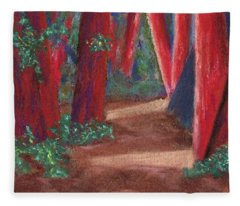 Fairfax Redwoods Fleece Blanket