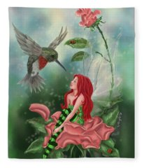 Fairy Dust Fleece Blanket