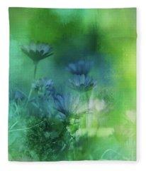 Fairy Garden Fleece Blanket