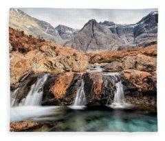 Fairy Pools Fleece Blanket