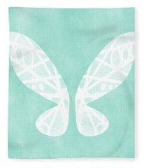 Fairy Wings- Art By Linda Woods Fleece Blanket