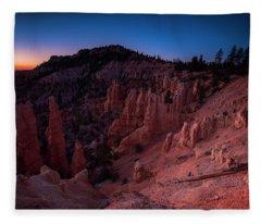 Fairyland Canyon Fleece Blanket