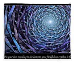 Faithfulness Fleece Blanket