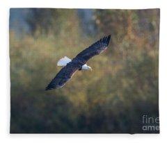 Fall Flight Fleece Blanket