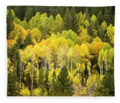 Fall In The Sierras Fleece Blanket