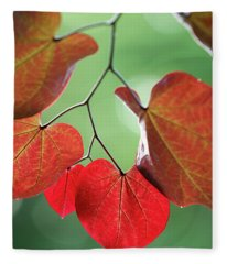 Redbud Fleece Blanket