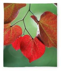 Redbud Fleece Blanket