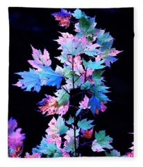 Fall Leaves1 Fleece Blanket