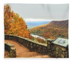 Fall, Signal Point # 1 Fleece Blanket