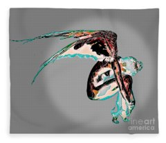 Fallen Angel Fleece Blanket